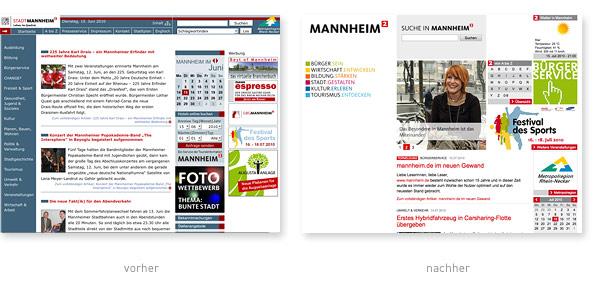 Mannheim.de Relaunch