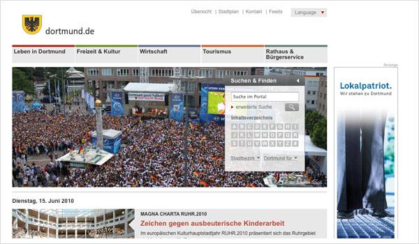 Stadtportal Dortmund / Dortmund.de