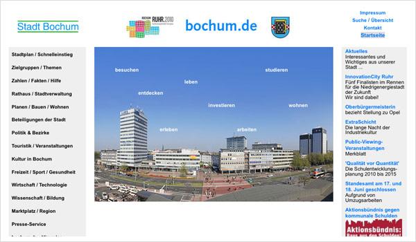 Stadtportal Bochum / Bochum.de