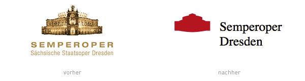 Redesign Logo Semper Oper