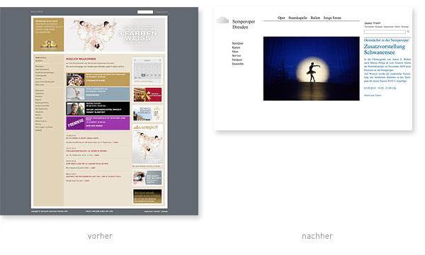 Relaunch Redesign Semper Oper