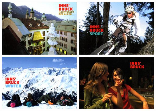 INNS' BRUCK - Die Hauptstadt der Alpen Design