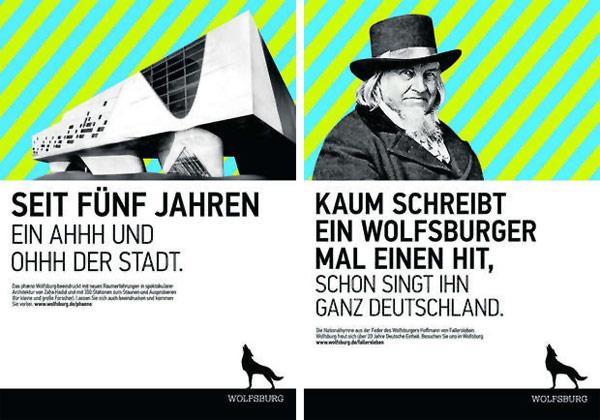 Stadt Wolfsburg Plakate