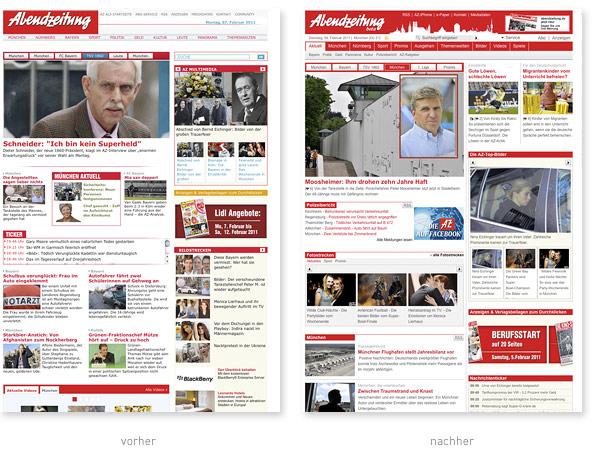 Abendzeitung.de Relaunch