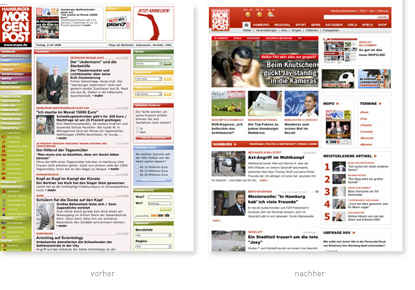 Hamburger Morgenpost Relaunch