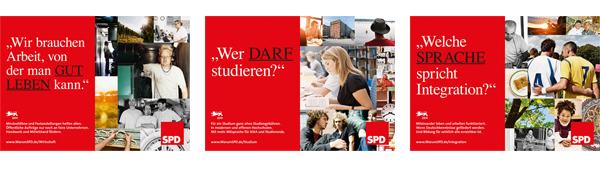 Wahlplakate SPD