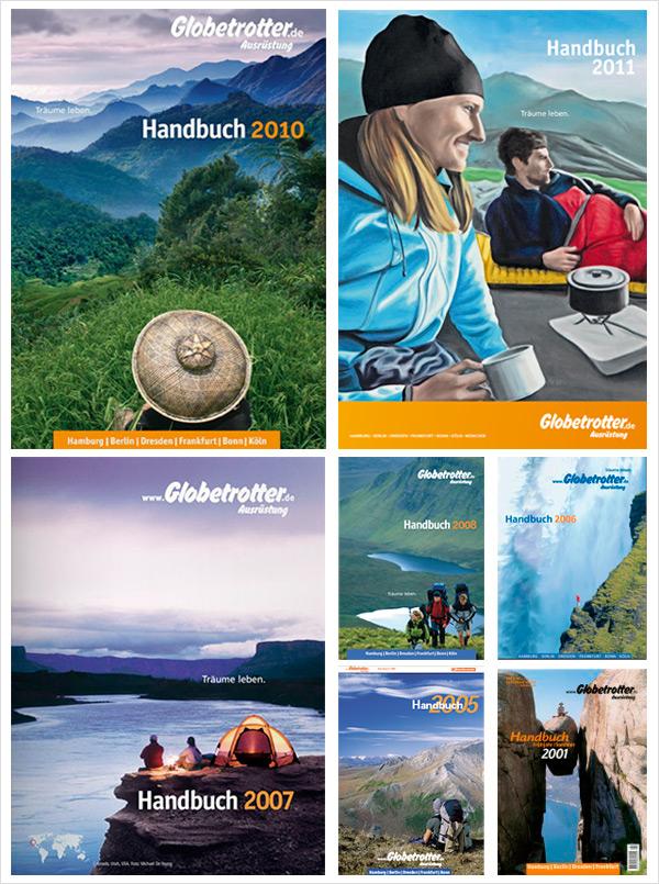 Globetrotter Kataloge