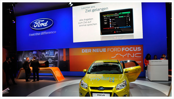 Ford Messestand CeBIT