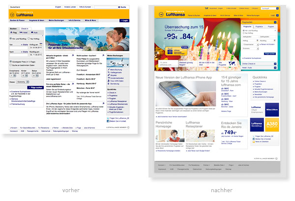 Lufthansa Relaunch