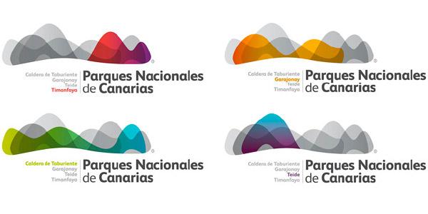 parques nacionales de canarias logos