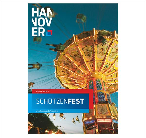 Hannover Broschüren Tourismus