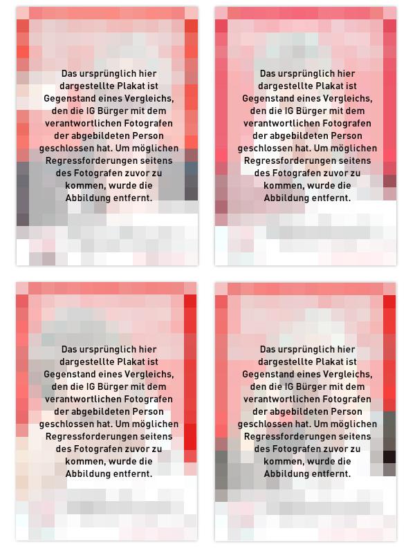 Stuttgart Volksabstimmung S21 Plakat