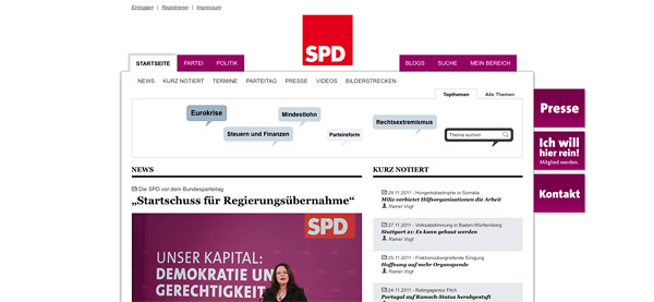 Website SPD