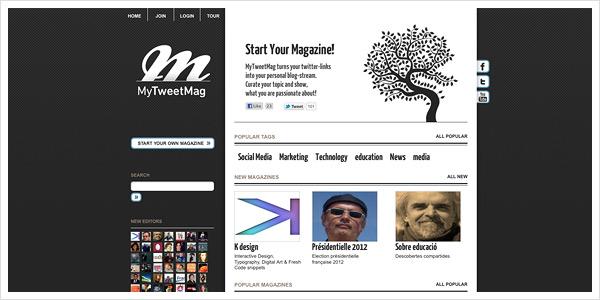 Design MyTweetmag