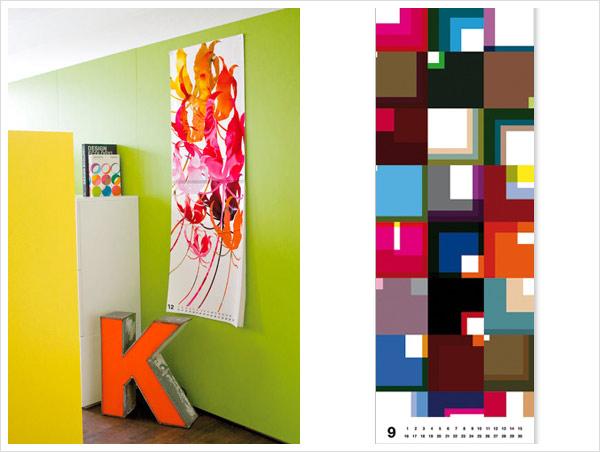 pattern poster wrapping paper calendar Kalender