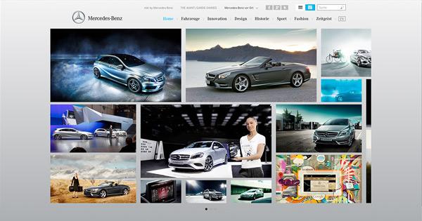 Mercedes-Benz com Galerie