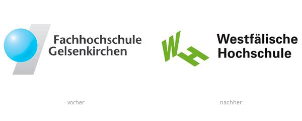 Fachhochschule Gelsenkirchen Westfälische Hochschule Logo