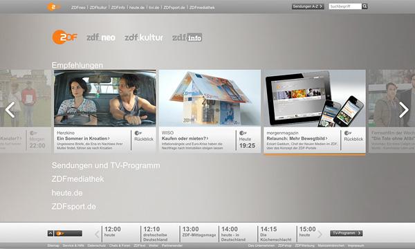 ZDF.de Startseite