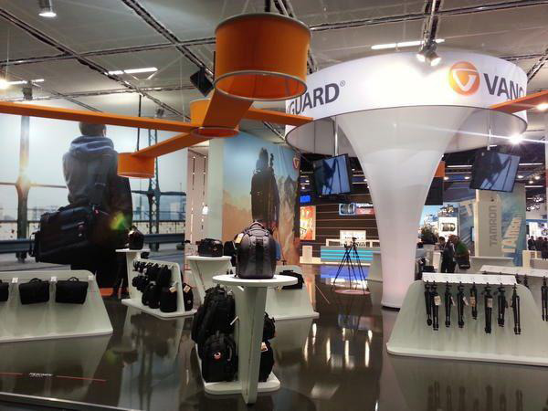 Vanguard Messestand Photokina 2012