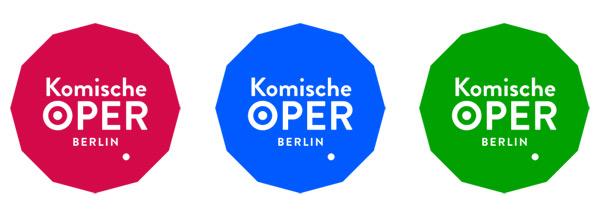 Komische Oper Logos
