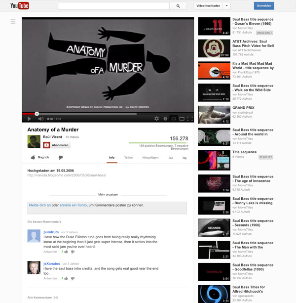 "YouTube Detailseite"" title="