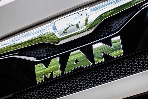 MAN Löwe Markenzeichen Design