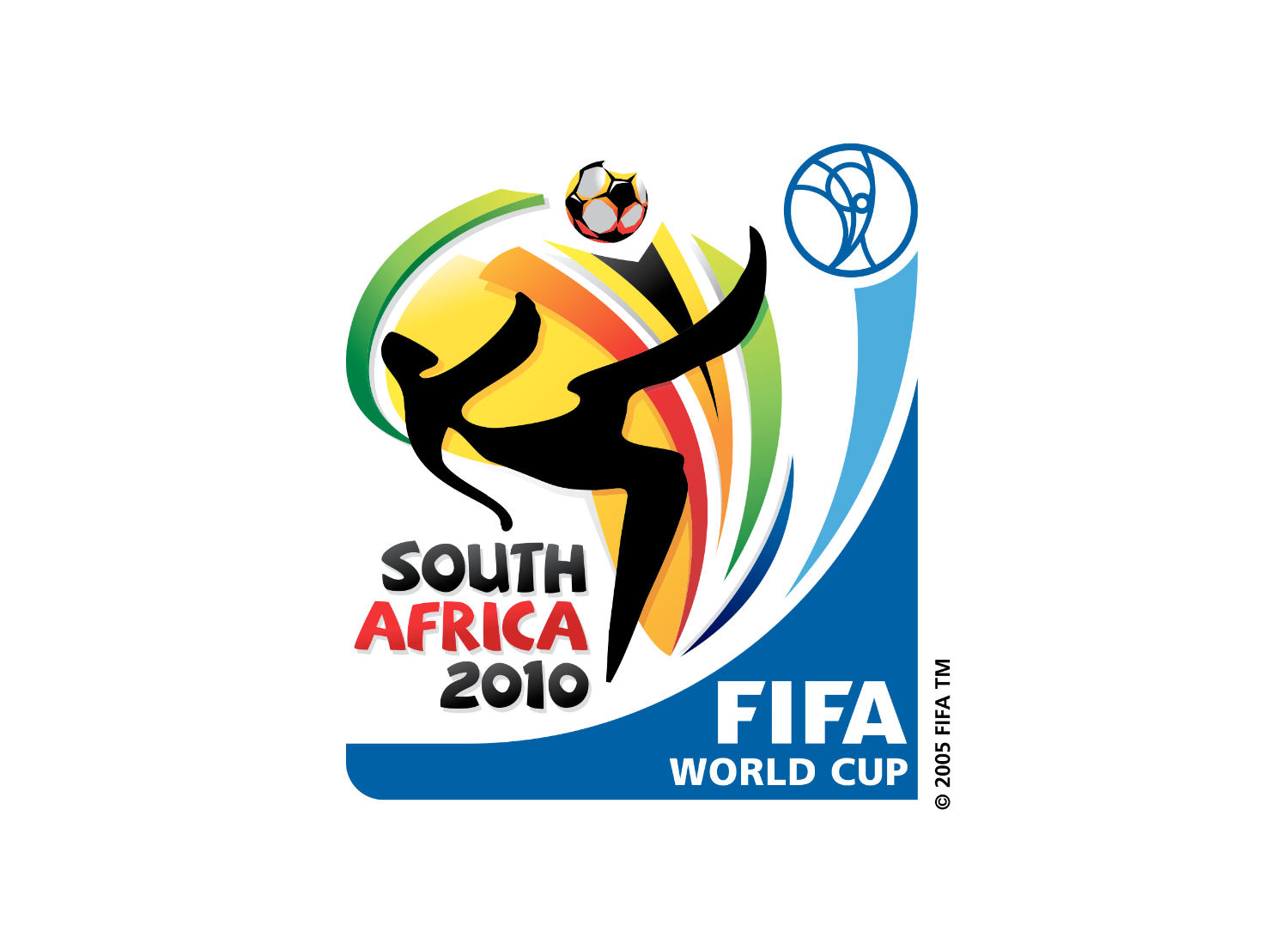 FIFA WM 2010 Logo, Quelle: Wikipedia