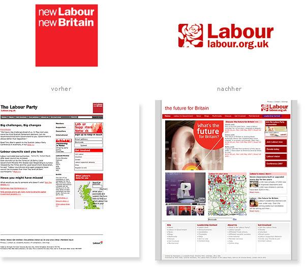Labour-Partei-Neues-Logo