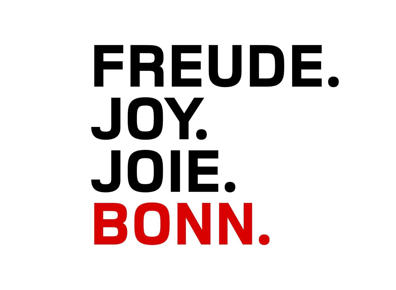 "Stadt Bonn Dachmarke ""Freude"""