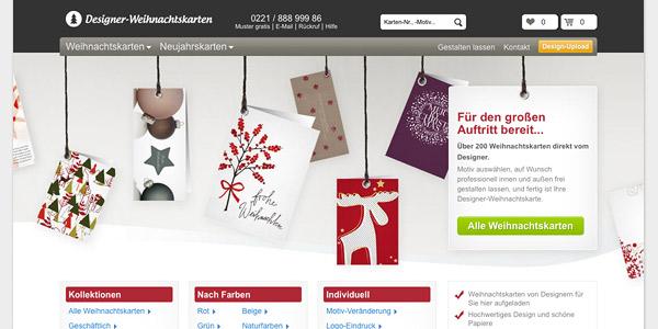 designer-weihnachtskarten