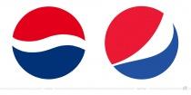 Pepsi Logo – vorher und nachher