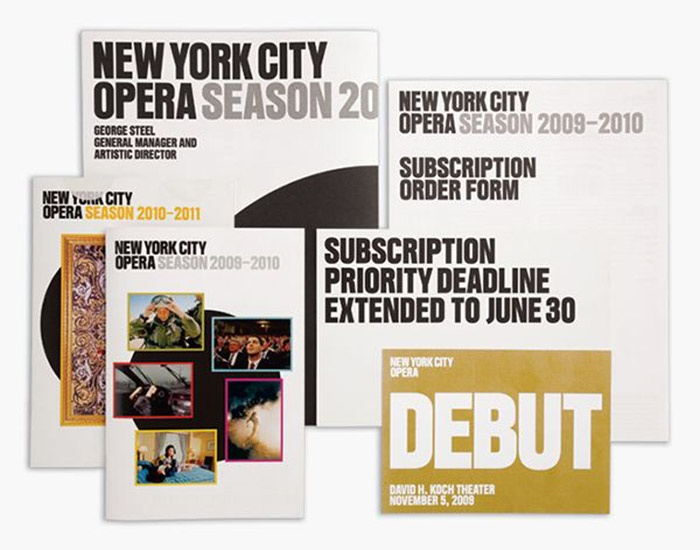New York City Opera Branding 2010