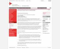 Hochschule RheinMain – Pressemeldung (2009)