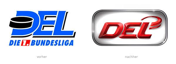 Deutsche Eishockey Liga DEL Logos