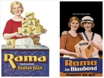 Rama Markenhistorie Werbung