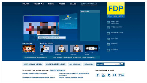 FDP Homepage