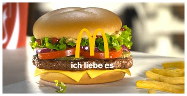 McDonald's – Ich liebe es