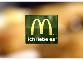 McDonald's Logo in grün