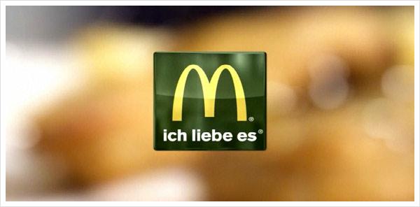 McDonald's Logo in grün