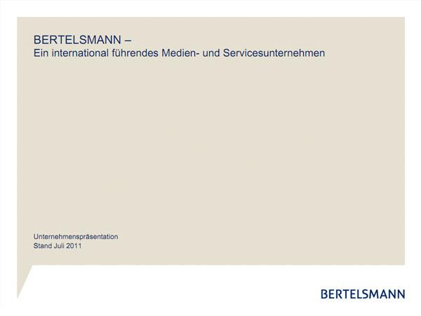 Bertelsmann Kommunikationsfläche