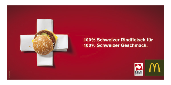 McDonald's Kampagne Schweiz
