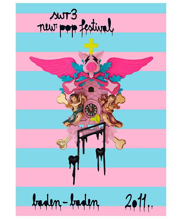 Plakat SWR3 New Pop Festival 2011