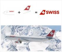 Swiss Logoherleitung
