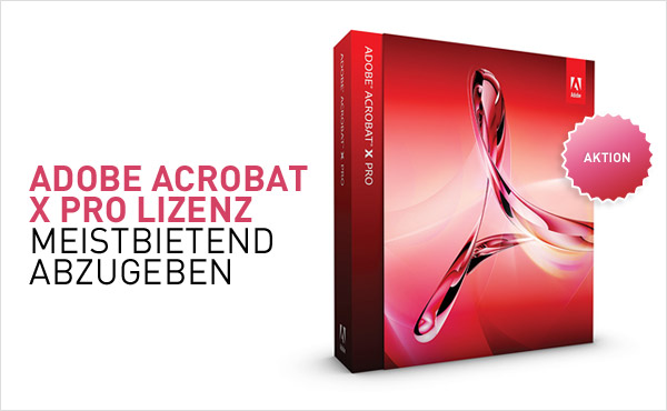 Adobe Acrobat Aktion