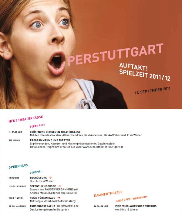 Oper Stuttgart Flyer