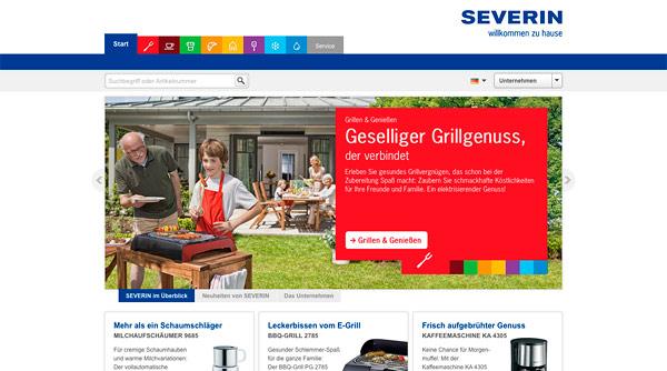 Severin.de Relaunch