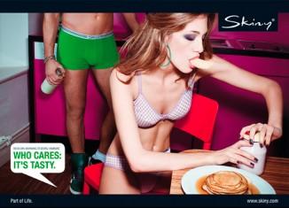 Skiny Kampagne