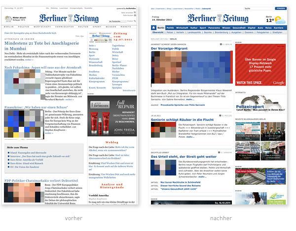 Berliner Zeitung Relaunch