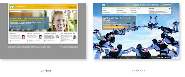 SAP.com Relaunch