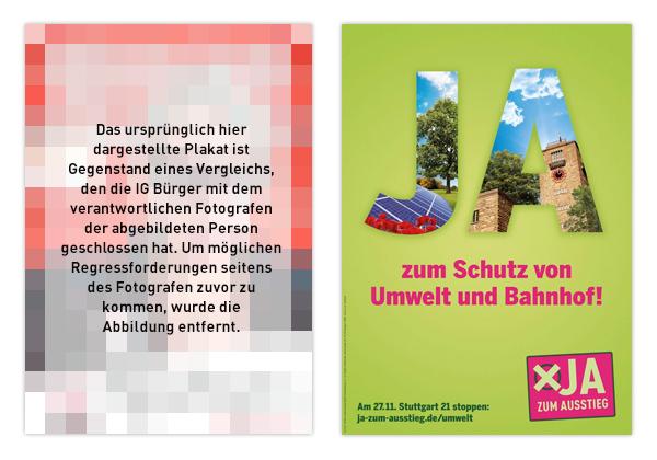 Stuttgart Volksabstimmung S21 Kampagne
